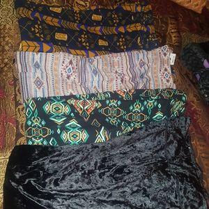 4 pair of leggings size l/xl